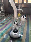 Pipe de tabagisme en verre de nid d'abeilles avec le prix de gros de gros