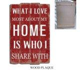 Gli S.U.A. designano i segni di legno del mestiere della piastra di legno per la decorazione domestica