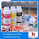 Leuchtstofffarben-Sublimation-Tinte Yellow& magentarote Digital Leuchtstofftinte für Sublimation-Übergangsdrucken/-gewebe/-becher/-metall/-sportkleidung/-keramisches