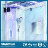 Múltiples funciones vendedor caliente Cabina de ducha con espejo y lámparas (SR215W)