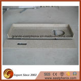 自然なBeige Granite KitchenかBathroom Vanity Top