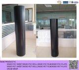Roulis noir de PVC de matte pour le traitement des eaux