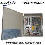 CCTV 사진기 상자 (12VDC13A8P)를 위한 전력 공급 상자 12V 156W