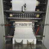 Maquinaria que convierte plegable del papel V de toalla de mano