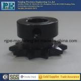 Kundenspezifisches schwarzes Oxid-Schichts-Metall-CNC-maschinell bearbeitendes Kettenkettenrad