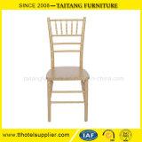 이용된 Chiavari 의자 나무로 되는 의자