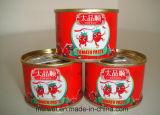 容易な開いたふたが付いている70gによって缶詰にされるトマト・ケチャップ