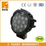 indicatori luminosi rotondi della lampada 7inch del lavoro del faro LED di 51W LED