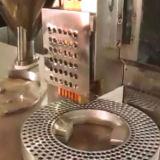 누름단추식 전쟁 손에 의하여 운영하는 자동 장전식 캡슐 충전물 기계