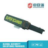 Detetor de metais portátil recarregável da inspeção da estação/fábrica