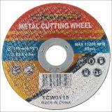 Acero inoxidable abrasivo del corte de los accesorios de la potencia del metal fino estupendo de la rueda