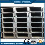 Manica d'acciaio strutturale di ASTM/della sezione galvanizzata A36 H di angolo a fascio dell'acciaio di u C