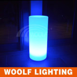 PE LED Decorativo Light Pillar Color Change Usado Casamento