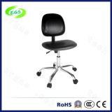 Schwarzer antistatischer Arbeits-Stuhl PU-ESD für Cleanroon Büro und Labor (EGS-3310-GHL)