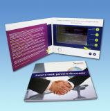карточка венчания 7inch LCD изготовленный на заказ видео- для приглашения