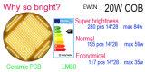 Warrwnty 3 년을%s 가진 2200-2500lm LED 궤도 점화