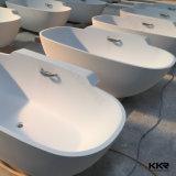 De comfortabele Badkuip van de Badkamers van de Steen van de Luxe van de Vorm van het Ei Kunstmatige