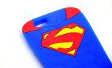 Caja del silicón del supermán para el iPhone 7 accesorios del teléfono de 7plus Motorola G4 (XSY-006)