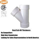 ASTM SCH40 plástico (UPVC) accesorios de tubería ASTM-D-2466 para suministro de agua (codo, te, zócalo, Casquillo de reducción, etc.)
