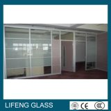 Berijpt Decoratief Gelamineerd Glas voor Sier