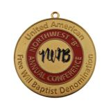 O desafio feito sob encomenda da lembrança 3D concedeu a medalha (GZHY-JNB-008)