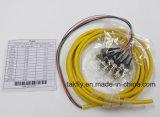 Tresse de paquet de Multi-Fibres de noyaux de LC/St/LC/FC 6/12/24