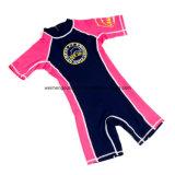 Tecido reusável do bebê da nadada, Wetsuit morno, Swimsuit da flutuabilidade. Wm046