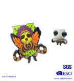 Pinos de lapela de esmalte duro em forma de abelha de animal personalizado (XD-0313)