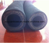 Boyau en caoutchouc hydraulique flexible du pétrole SAE100r2 à haute pression spiralé