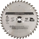 切断40t 105 x 1.8 x 20mm Silver Tone Carbide Circular Slitting Saw Blade