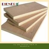 Madera contrachapada usada madera contrachapada del anuncio publicitario del tamaño estándar del grado de los muebles