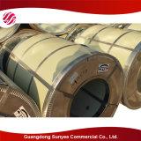 Acier galvanisé par enroulement de la feuille PPGI d'acier inoxydable
