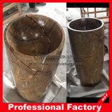 Тазик & раковина мытья гранита мраморный естественные каменные