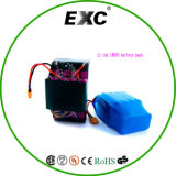 スクーター電池のパック、2車輪のための25p 18650李イオン電池のパックLithiumbattery