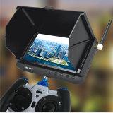 Fabrik 5.8g 32chs Preis HD 5 ' Zoll drahtloser Mini-DVR Monitor mit LCD-Bildschirmanzeige und Sonnenschutz