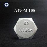 ASTM A490m 10s Hex Schraube Dacromet mit vollem Gewinde