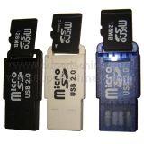 Lecteur micro de carte SD d'USB (S1a-8001d