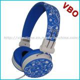 Écouteurs promotionnels de cadeau d'écouteur stéréo mains libres de musique d'écouteurs d'OEM (VB-9665D)