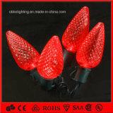 中国の卸し売り多色刷りのクリスマスの装飾ライト休日ライトLED C7 C9ストリングライト