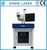 Máquina ULTRAVIOLETA de la marca del laser para el shell del cargador del iPhone