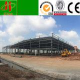 Entwurfs-Aufbau, der Baustahl-Lager-Halle aufbaut