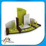 El soporte de visualización de madera reciclado de los pendientes de la joyería valida orden de encargo