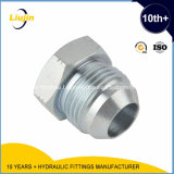 Jic Male 74degree Cone Plug di Hydraulic Adapter (4J)