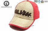 Sombrero de paja Gorra de béisbol / Sombrero de paja Gorra