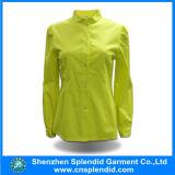 Späteste beiläufige Form-Baumwollhemd-Entwürfe für Frauen