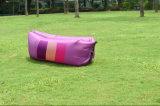 Sofa léger de sac de couchage d'air de lieu de visites de Laybag de poste chaud de vente, le Laybag oblong coloré
