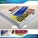 Signes provisoires et promotionnels de Correx de Signage (M-NF32P08005)