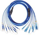 Corde de pièce rapportée blindée de fibre de Sc/FC/St/LC