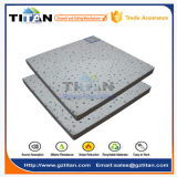 Placas minerais acústicas do teto da fibra da absorção sadia