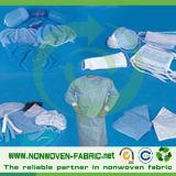 Tessuto non tessuto dei pp per uso medico
